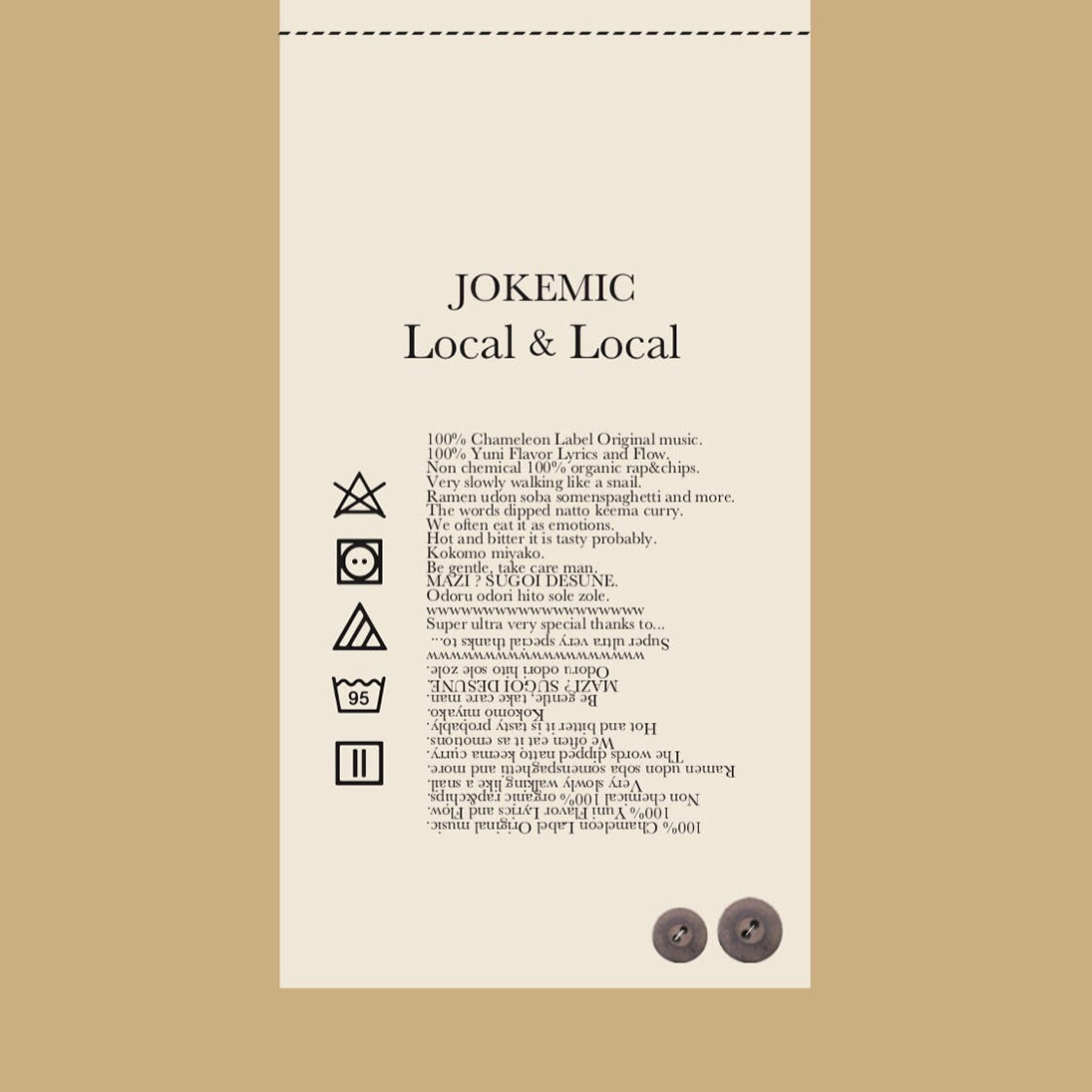 JOKEMIC / Local&Local
